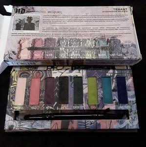 "Urban Decay, Jean Michel Basquiat ""Tenant"" palette"